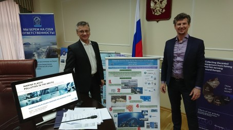 """""""A plasticized world"""" – Bilateral marine litter project presented in Moscow"""